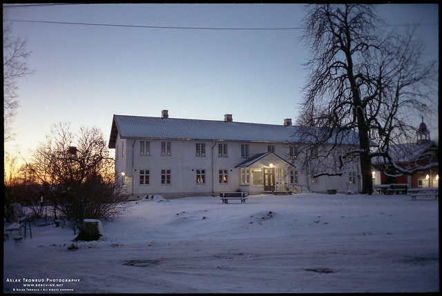 Main building at Tveten farm