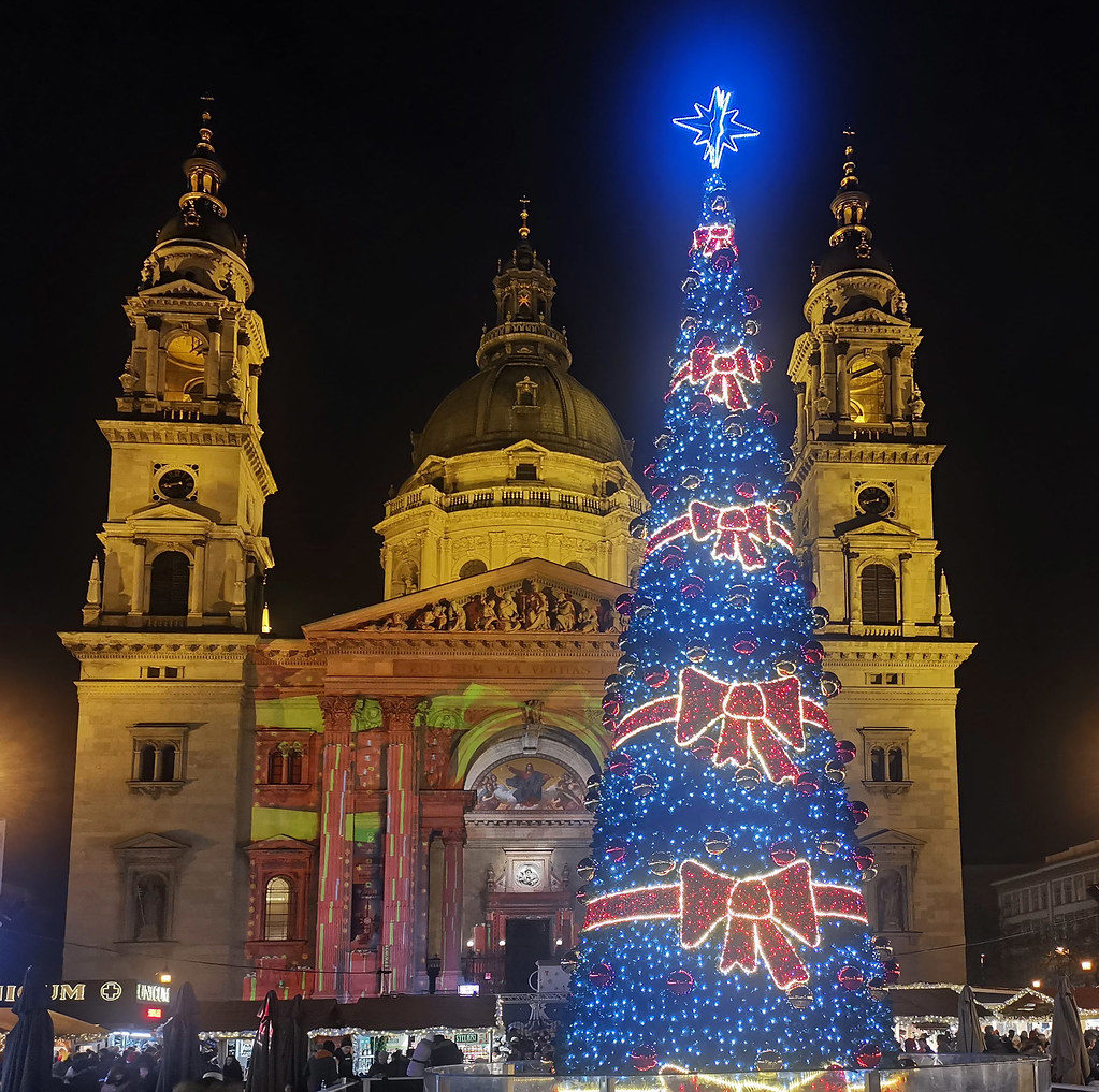 Advent Feast at the Basilica - Budapest, Hungary