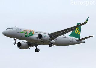 F-WWID Airbus A320 Néo Spring. Spécial 100th sticker