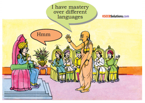 KSEEB Solutions for Class 6 English Prose Chapter 2 The Scholar's Mother Tongue 10