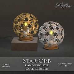 Star Orb Candleholder Ad