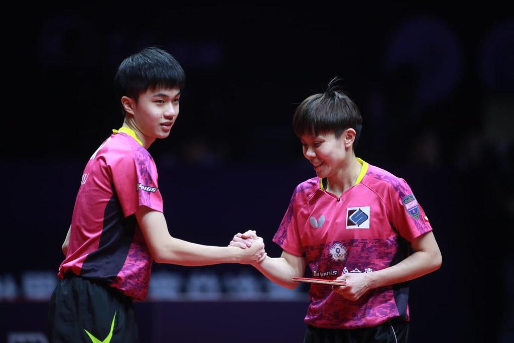 林昀儒、鄭怡靜搶下奧運門票。(取自國際桌總官網)