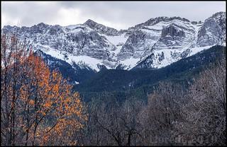 Serra del Cadi des de Estana