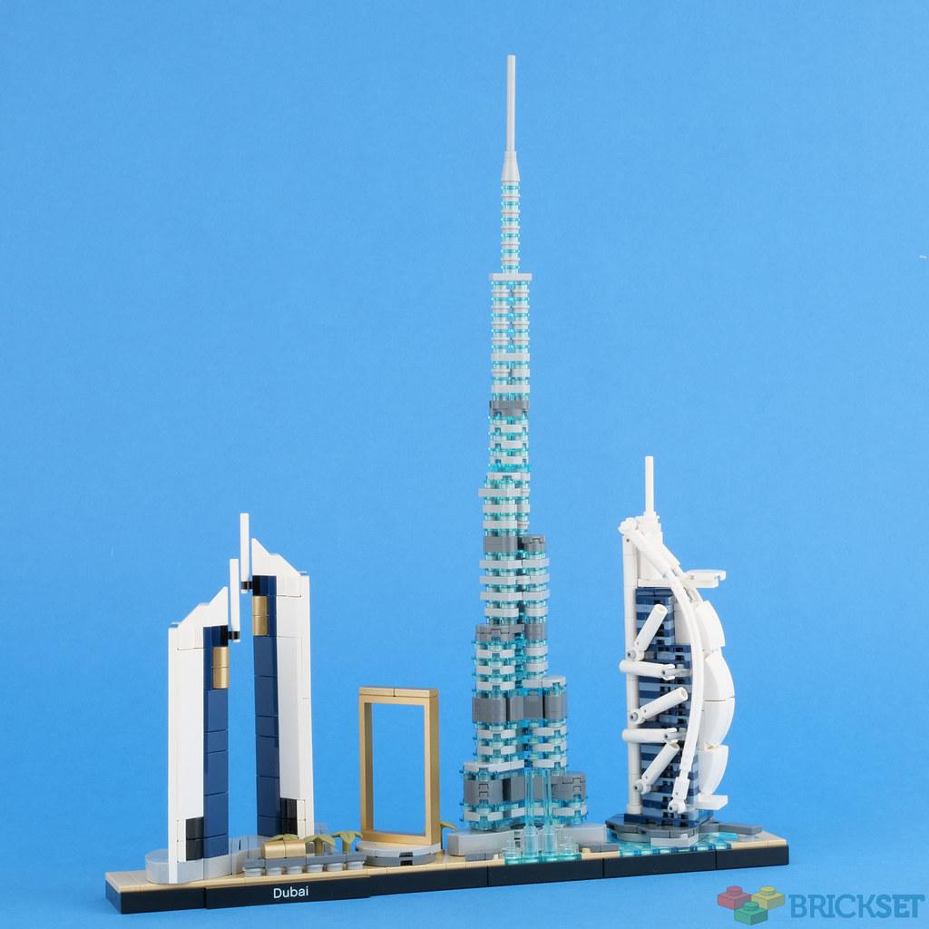 LEGO Architecture 21052 Dubai review