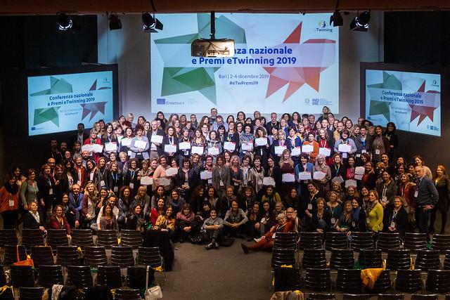Conferenza nazionale e premi eTwinning 2019 - Bari