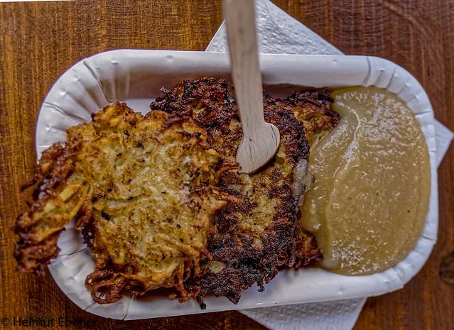 BS, Weihnachtsmarkt Kartoffelpuffer
