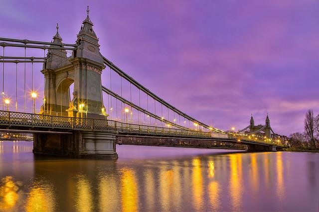 Il vecchio ponte / The old Bridge (Hammersmith, London, United Kingdom)