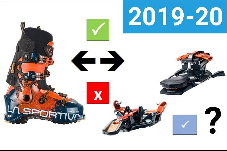 Kompatibilita boty - vázání 2019-20