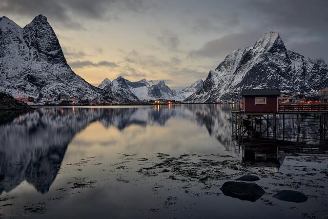 Reine - Fjord view