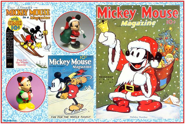 CM2017-08  Mickey Mouse Santa