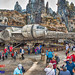 Millennium Falcon in Port