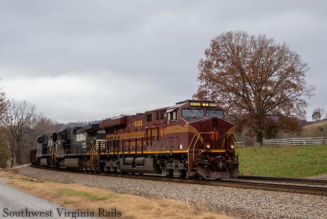 Pennsylvania HU leading NS 126. Shawsville, Va.