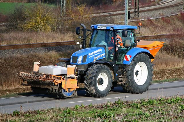 New Holland T6.175 / Fahrner Bau