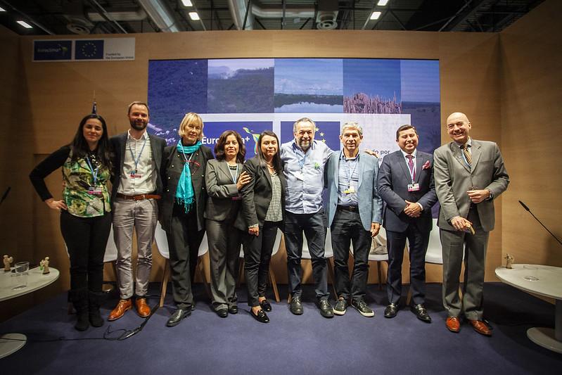 Evento paralelo (side event) EUROCLIMA+ Pre COP25