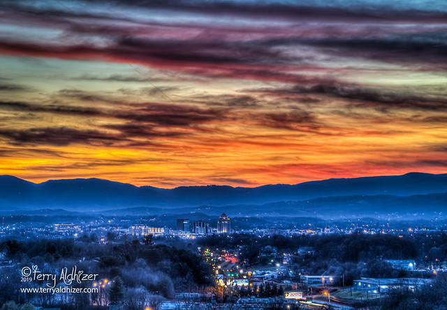 Last 55 Years Old Sunset Roanoke Valley