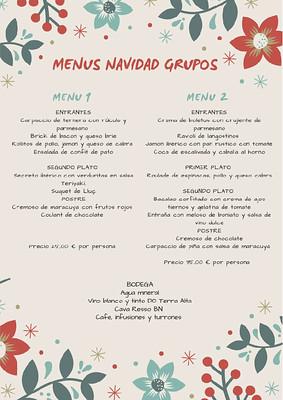 Menús Grups Hotels Medium Sitges