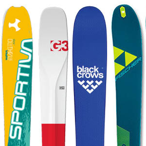Skialpové lyže  2017/2018