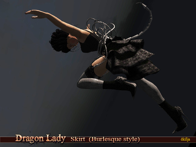 Dragon Lady Skirt 1