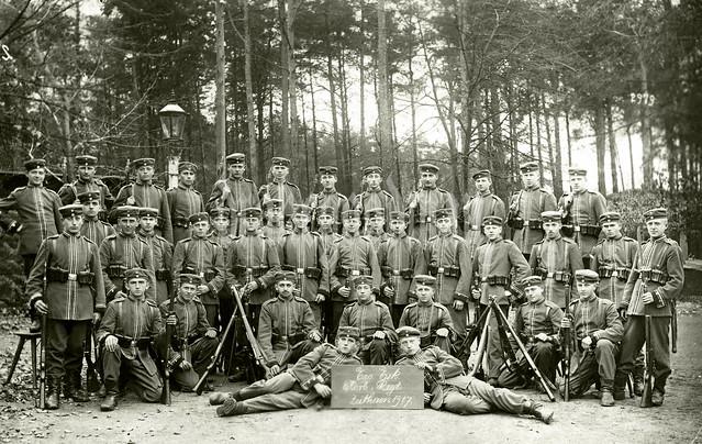 Boys from Ersatz Eskadron, Königlich Sächsisches Karabinier-Regiment (2. Schweres Regiment), Zeithain 1917
