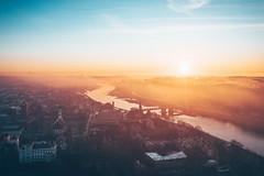 Kaunas old town | Aerial
