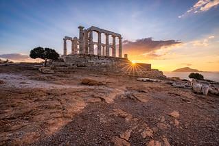 Lord of the Seas || Señor de los Mares (Poseidon Temple, Cape Sounion. Greece)