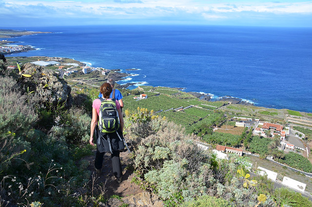 Walking in Isla Baja, Tenerife, Canary Islands