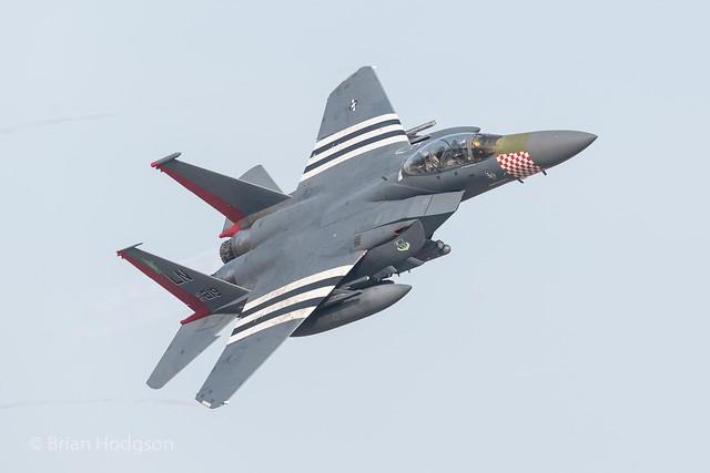 91-0219  'LN'  F-15E  USAF  492 FS  48 FW  '75th Anniversay D-Day Markings'