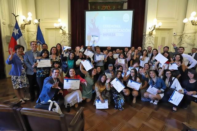 Certificación Programa Impulsa Santiago 2019