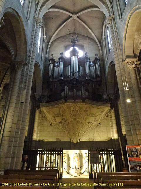 Albi - Le grand-orgue de la collégiale Saint-Salvi (1)