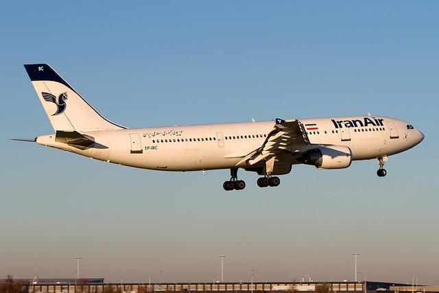 EP-IBC, Airbus A300B4-605R, Iran Air