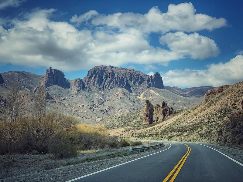 Ruta 237, Neuquén, Patagonia argentina