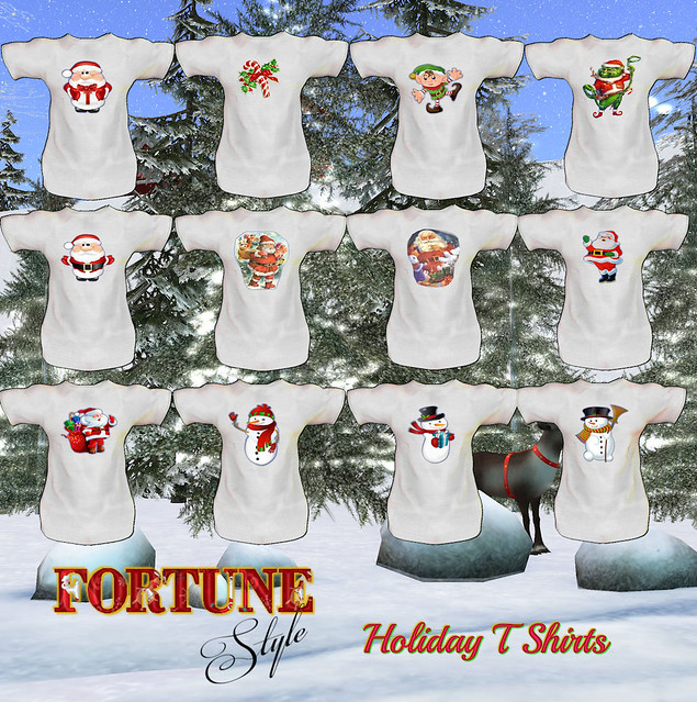 Fortune Holiday T Shirts Composite
