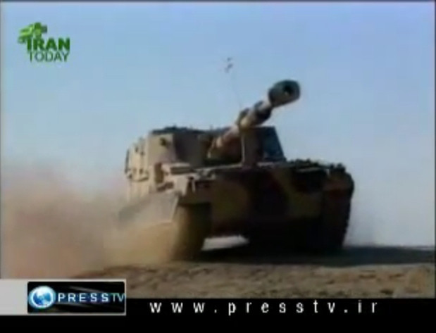 155mm-Raad-2-iran-maneuvers-inlj-1