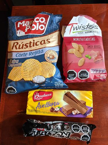 Chilean snacks