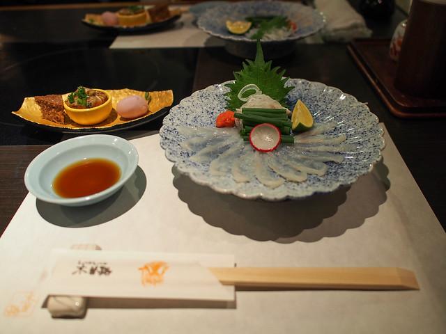 Tessa ; Fugu Sashimi