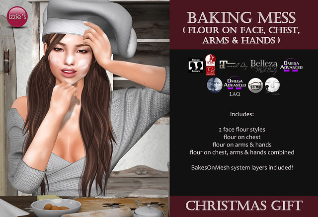 Baking Mess (Christmas Gift for Shop & Hop)