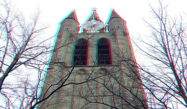 Toren Oude Kerk Delft 3D