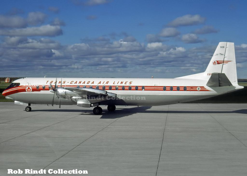 Trans Canada Air Lines Vickers Vanguard-952 CF-TKH