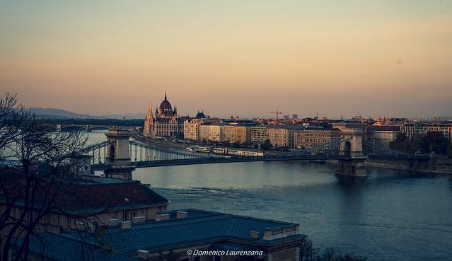 Danubio river view