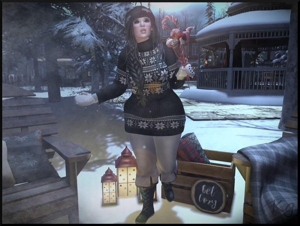 Get Cozy  (Winter Spirit Event)