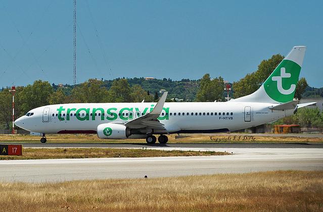 Boeing 737-8K2 F-HTVB Transavia France
