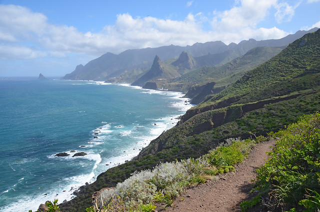 Anaga coastline, Tenerife, Canary Islands