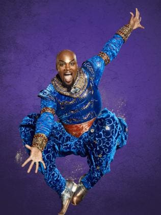Orlando Native MICHAEL SCOTT back in his role as GENIE in ALADDIN