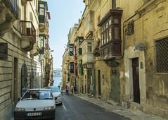 Street with Maltese Balconies