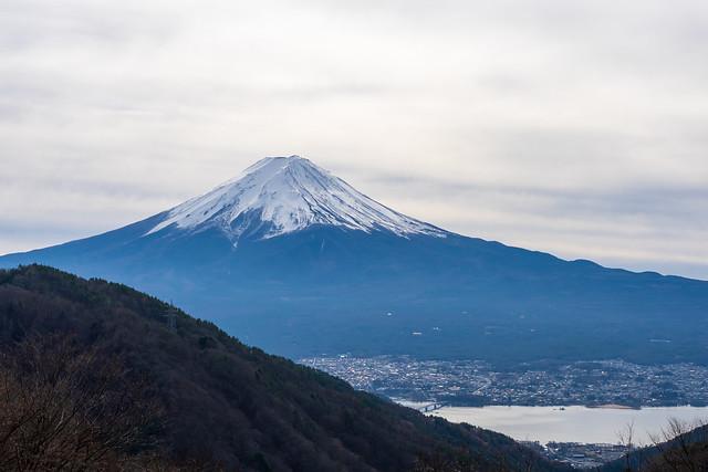 富士山@旧御坂トンネル