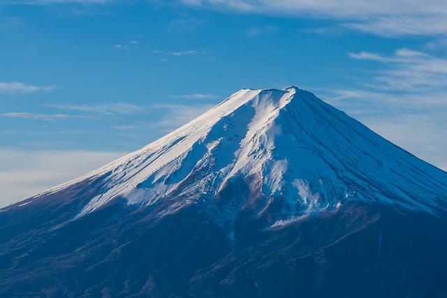 富士山クローズアップ@木無山手前展望台
