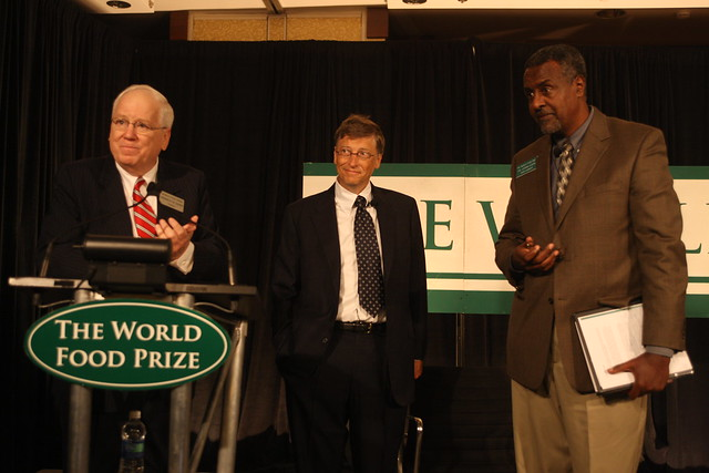 2009 Bill Gates Launches Global Initiative to End Hunger at Borlaug Dialogue