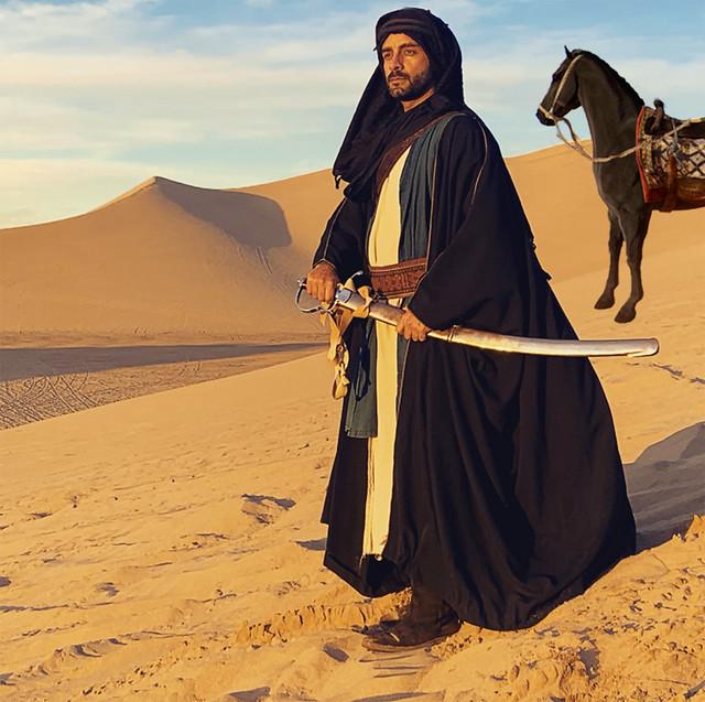 Arsi Nami as Desert Warrior in upcoming French Film