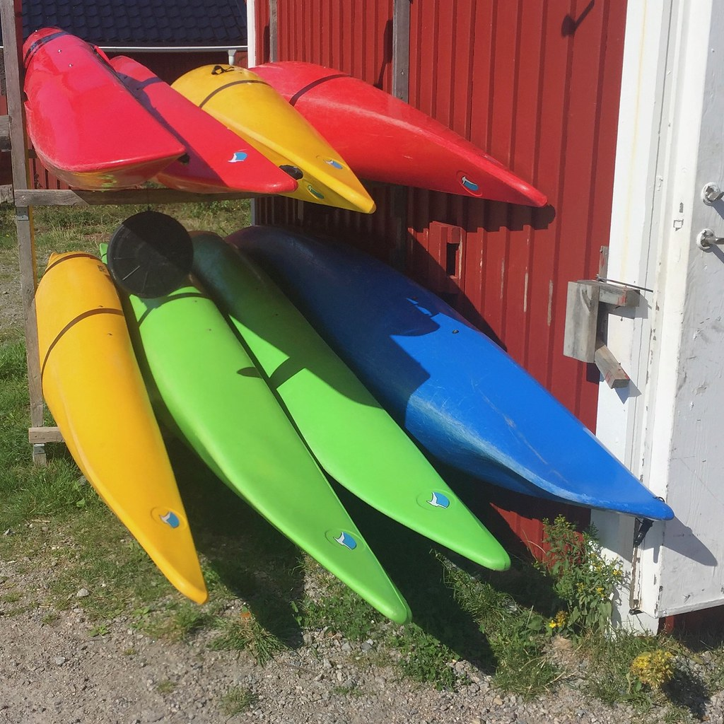 Colourful Canoes
