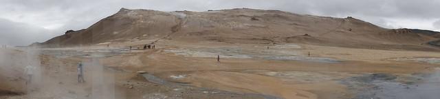 Iceland - Hverarönd Geothermal Area